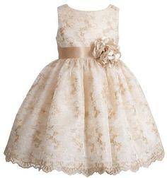 Nordstrom Kleinfeld Pink 'Leela' Sleeveless Dress (Baby Girls) $115.00