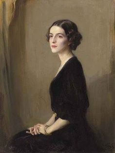British Paintings: Philip Alexius de Laszlo - Portrait of Mrs Virginia Heckscher McFadden