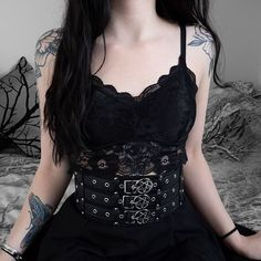 How cute is this dress from ? Grunge Outfits, Gothic Outfits, Edgy Outfits, Fashion Outfits, Womens Fashion, Alternative Outfits, Dark Fashion, Gothic Fashion, Punk