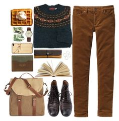 """""""Untitled #254"""" by grapecar1015 ❤ liked on Polyvore featuring Patagonia, Margaret Howell, Simon Carter, rag & bone, Coach and Toast"""
