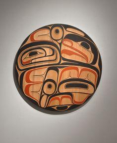 MOSQUITO PANEL - Alano Edzerza Carved Red Cedar 36 x 36 inches