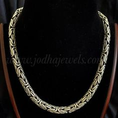 Neck- chain Atulya Antique Jewellery, Antique Rings, Neck Chain, Gold Necklace, Bangles, Diamond, Antiques, Pendant, Jewelry