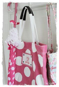 Greengate umbrella and bags