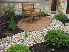 Landscaping With Stones And Rocks Instead Of Mulch