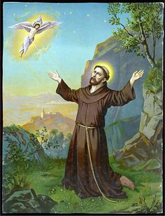 Saint Francis of Assisi - Receiving the Stigmata . . .  —  Buy this art print at AllPosters.com