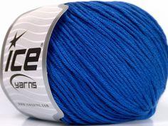 Fiber Content 60% Bamboo 40% Cotton Brand Ice Yarns Dark Blue Yarn Thickness 3 Light DK Light Worsted fnt2-50669