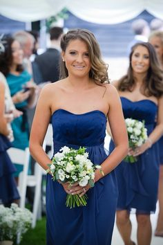 Bridesmaid bouquet flowers - Rustic theme wedding at Lains Barn, Wantage - flowers & decor by Seventh Heaven Events #seventhheavenevents