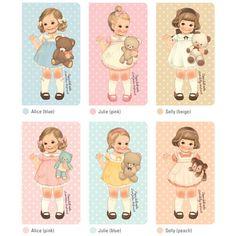Lovely~! Undated Journal Weekly Planner_Afrocat Paper Doll Mate Sweet Diary V.2