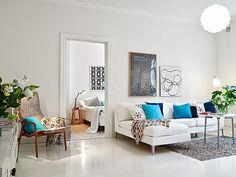 Charming art-nouveau apartment in Sweden