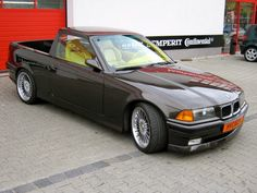 BMW M3 E36 Converted to a Pickup Truck