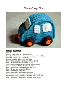 Free Crochet Patterns For Your Car : 1000+ images about knit/crochet car on Pinterest Crochet ...