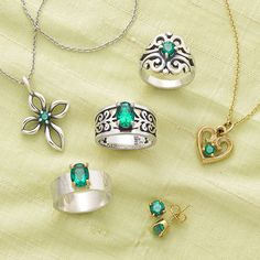 Enchanting and elegant emerald is the Avery Birthstone for May. #JamesAvery
