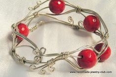 Great tutorial on how to make this really cute bracelet.