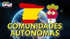 Las Comunidades Autónomas de España y Banderas para Niños