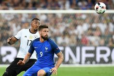 A France player hasn't scored past #GER in a major finals since 1982