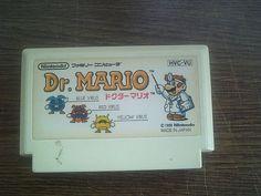 Famicom Family Computer Software Dr.Mario Nintendo by jpmslcom