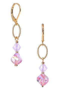 Swarovski crystal mix earrings
