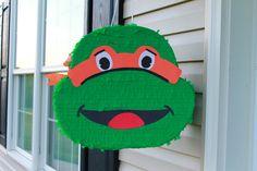 PINATAS PLUS - Custom Handmade Teanage Mutant Ninja Turtle (TMNT) piñata. You choose the color! pinatasplus@gmail.com