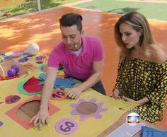 Diversão garantida! Peter Paiva ensina a fazer um brinquedo de bola ao alvo no 'É de Casa'