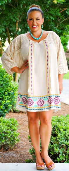 Perfectly Priscilla Boutique - The Right Stuff Dress, $42.00 (http://www.perfectlypriscilla.com/the-right-stuff-dress/)