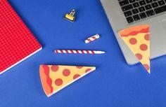 Pizza Sticky Notes