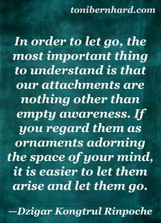 """Attachments are """"ornaments adorning the space of your mind…""""   Yamas   Aprigraha - not accumulating what is not essential"""