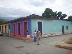 La casa natal de Vicente Gerbasi en Canoabo, Estado Carabobo