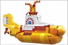 Lego vai lançar 'Submarino Amarelo' dos Beatles