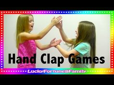 In this excerpt, students demonstrate how to play the clapping game. Hand Games For Kids, Music For Kids, Activity Games, Fun Games, Rhythm Games, Hand Clapping Games, Slap Game, Playground Games, Sibling Rivalry