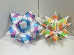 【Modular Origami】ふぇざすけA30枚組【ユニット折り紙】17