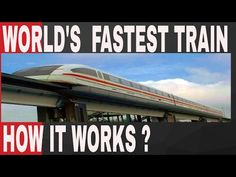 MAGLEV TRAIN HOW DOES IT WORKS | D.I.P. Chronicles