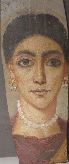 Il ritratto del Fayyum, II secolo. Museo Archeologico di Strasburgo, Francia