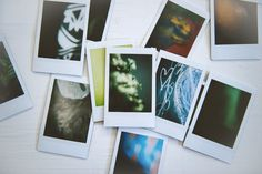 abstracts with an instax