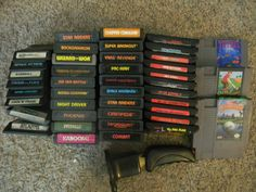 Flea market find. Crate of games paid $25