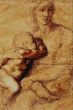 Michelangelo, Madonna and Child (16th c.)