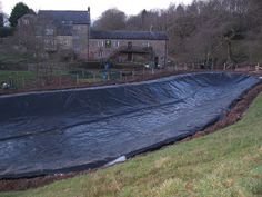 New Tarps World: Large Pond Liner For The Large Area Of Pond