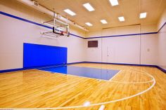 Imma have one of these in my house one day Home Basketball Court, Basketball Room, Basketball Game Tickets, Indoor Gym, Log Homes, Home Theater, Game Room, My House, House Design