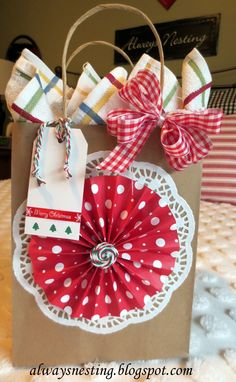 Decorate a plain bag