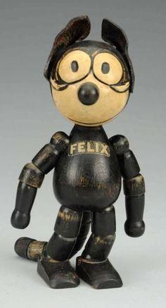 Juguetes de los 40. Gato Félix #RetroToys #JuguetesDeLos40.-  Contanos a qué te gustaba jugar cuando eras chico en http://www.laanonima.com.ar/dia-del-nino