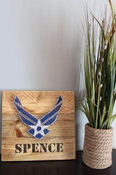 Air Force string art - military - retirement