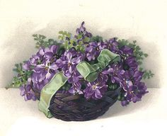 bumble button: Lots of flowers!! Lilacs, Forget-me-nots,Violets,Lilly of the valley, for your collage atc and scrap