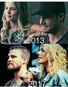 Somethings never change! #Stemily #Olicity #Arrow #hvfflondon