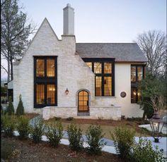 Cottage Exterior, Dream House Exterior, Exterior House Colors, Cottage House Exteriors, Home Exterior Design, Stone Exterior Houses, Home Styles Exterior, Exterior Homes, Interior Design