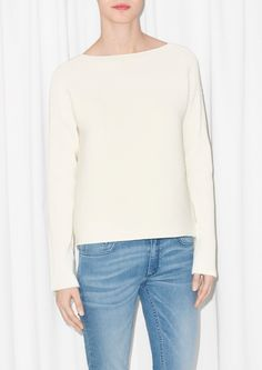 & Other Stories | Ribbed Wide Fit Sweater £65