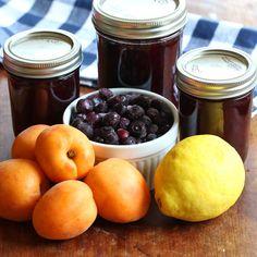 Blueberry Lemon Apricot Jam. #jam #canning daringgourmet.com