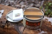 Canadian Beeswax Emergency Candle Emergency Candles, Camping Equipment, Bushcraft, Coffee Cans, Lamps, Fire, Lightbulbs, Camping Products, Lanterns