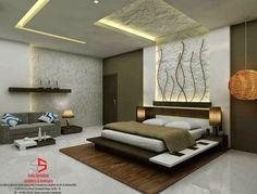 Conforto e sofisticação Um quarto bem decorado depende de vários fatores, como cabeceira, iluminação, penteadeira, criados mudos, cô...