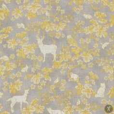 Snowy Peak Winter Frolick Quilting Fabric - Taupe Gold