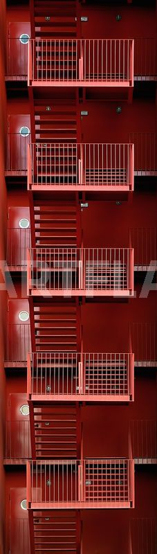 """Escalera MVRDV"" Photography art prints and posters by Pablo Vicens - ARTFLAKES.COM"