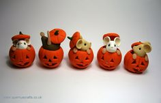Pumpkins and mouses